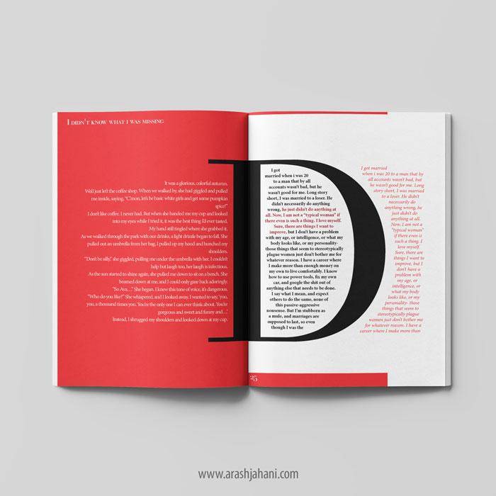 creative book format