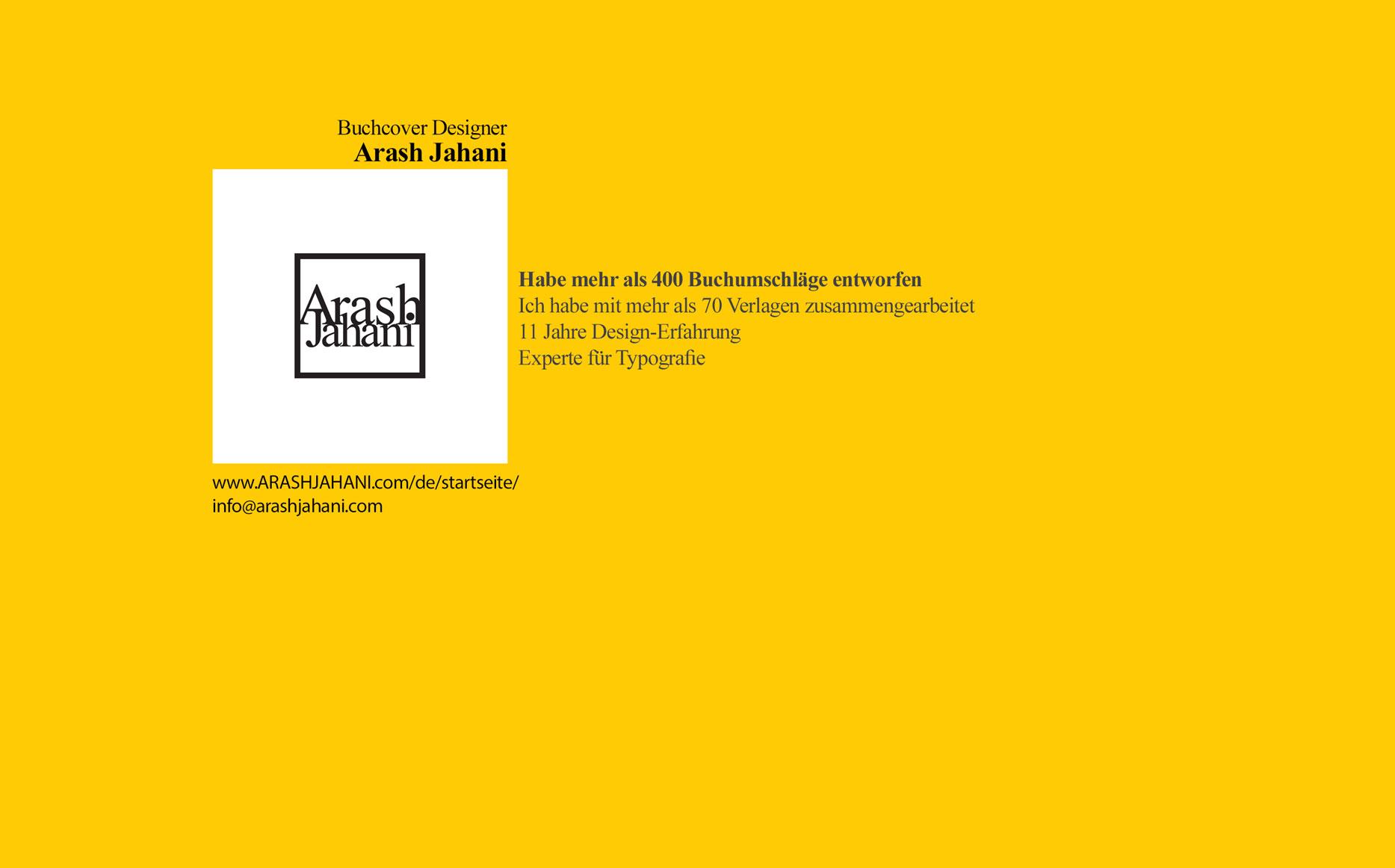 Buchcover designer