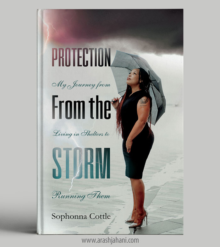 Protection from the storm Book cover designer