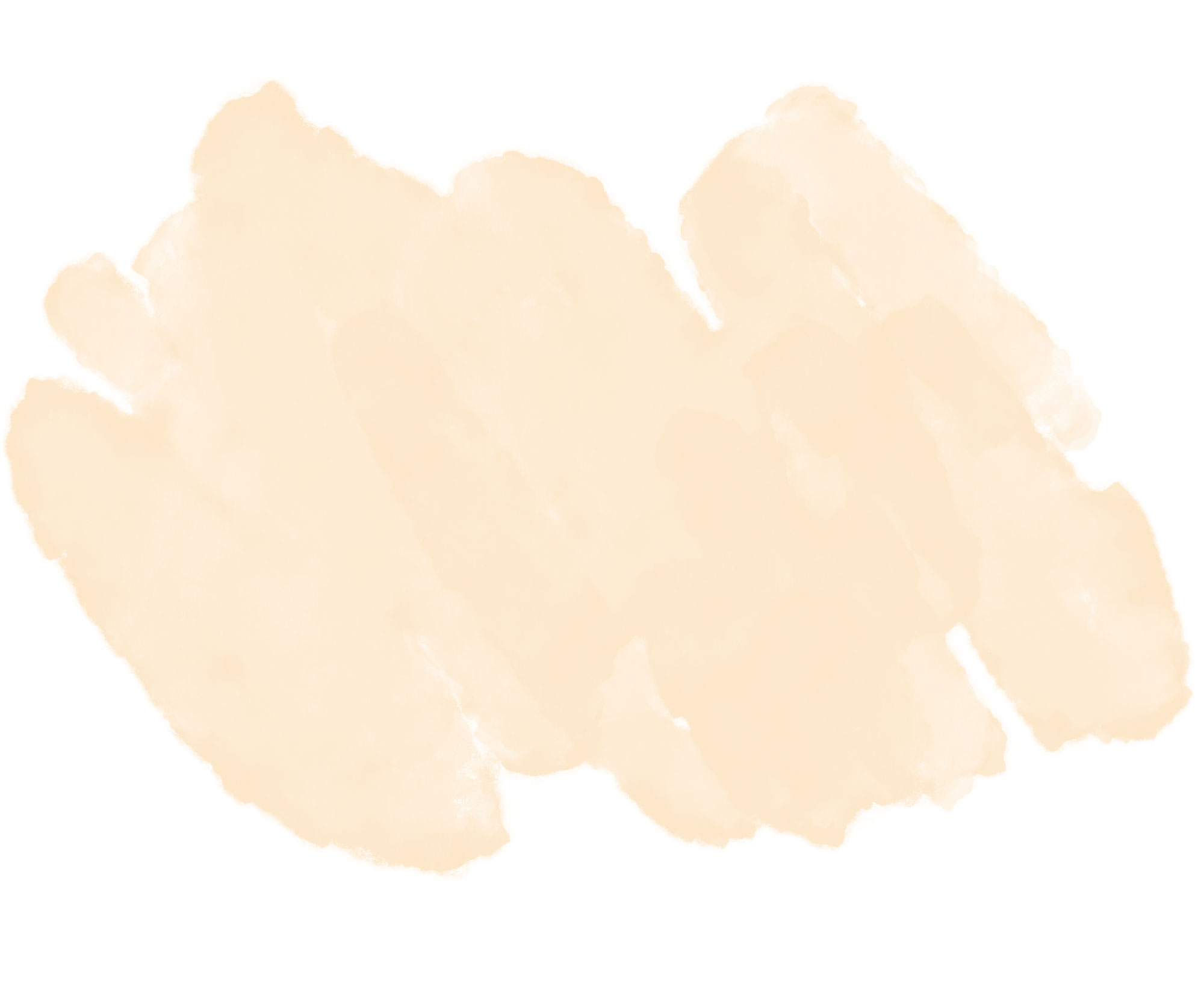 Cream watercolor