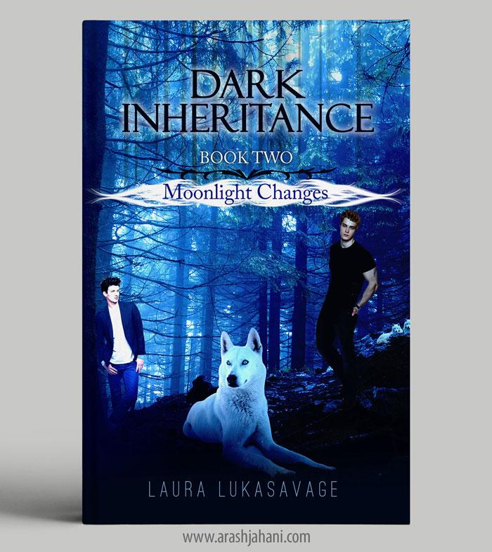 dark inheritance book cover designer