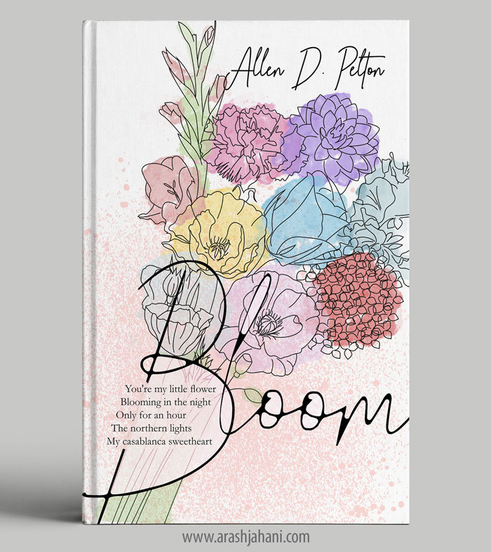 Poetry book cover designer