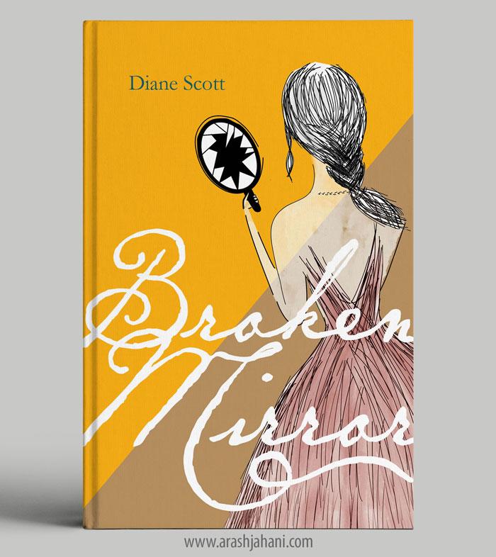 Broken mirror Book cover designer