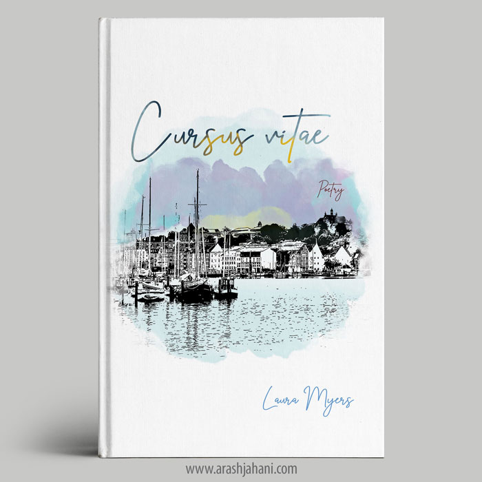 Poetry premade book cover