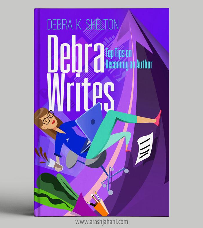 Debra writes Book cover designer