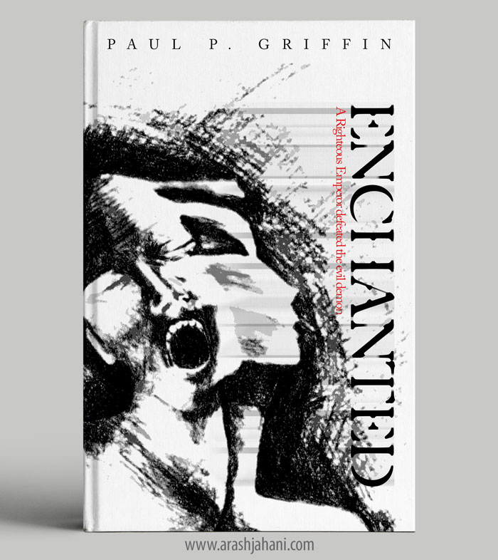 Enchanted book cover design