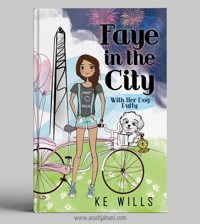 Faye in the City cover designer