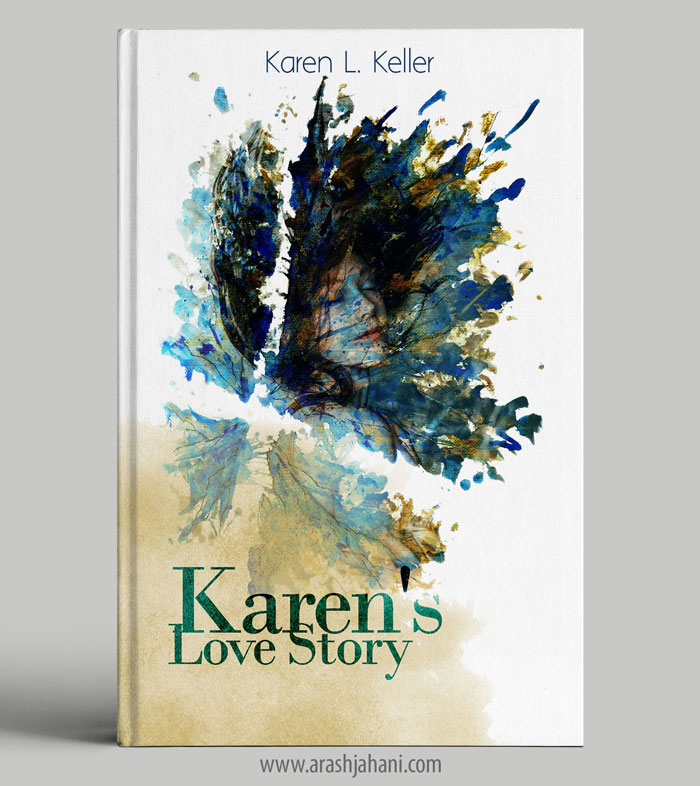 Karen's love story book cover design