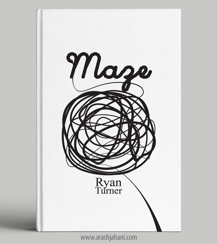 maze book cover designer
