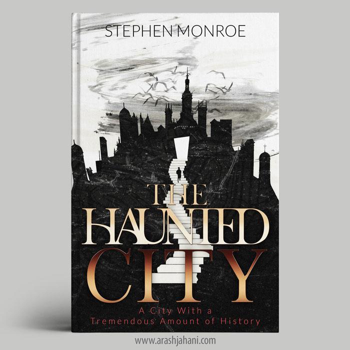 scary book cover design