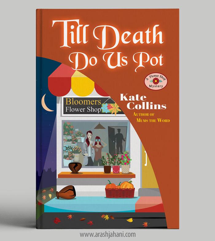 Till death do us pot cover designer