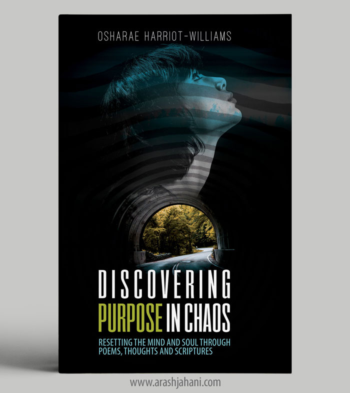 discovering purpose in chaos book cover designer