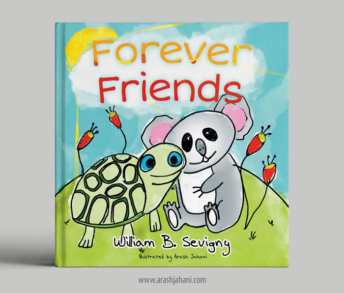 forever friends cover design