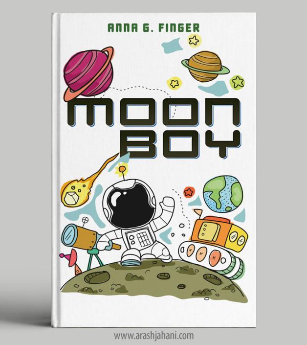childrens book cover designer