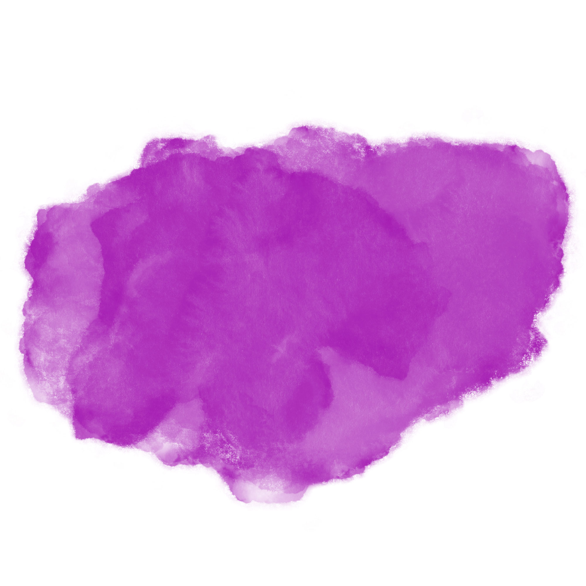 Purple watercolor