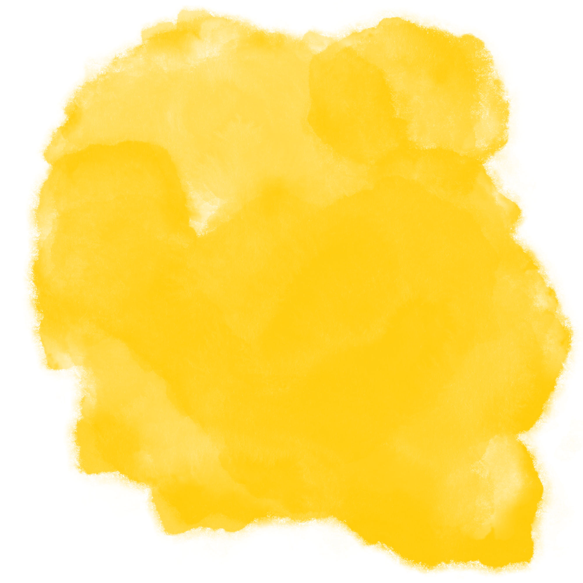 yellow watercolor